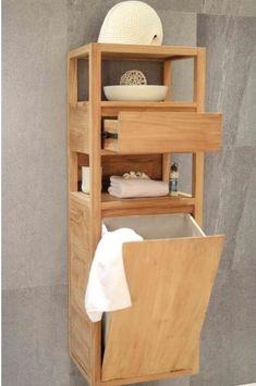Bathroom Furniture, Home Furniture, Furniture Design, Fall Apartment Decor, Diy Kitchen Decor, Home Decor, Flat Ideas, Space Saving Furniture, Laundry In Bathroom