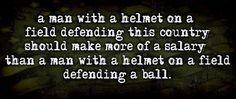 a man with a helmet