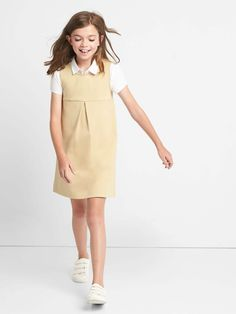 OshKosh BGosh Girls Kids Uniform Ponte Jumper
