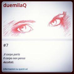 #7...Il corpo. #haiku www.duemilaq.com  #duemilaq