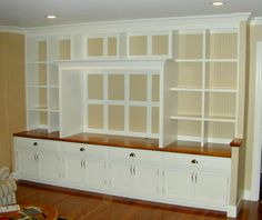 how to build shelves in a wall - Google Search