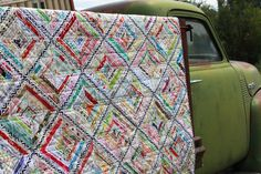 Selvage Quilt: Material Obsession | Flickr - Photo Sharing!