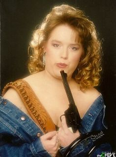 An epic collection of bad Glamour Shots. I laughed so hard I cried!