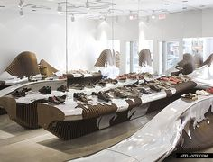 Camper Shoe Shop in Washington D.C. // Benedetta Tagliabue (EMBT) | Afflante.com