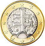 1 euro Slowakije