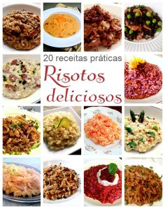 Salty Foods, Risotto Recipes, Slow Food, Food Hacks, Italian Recipes, Easy Meals, Food Porn, Cooking Recipes, Yummy Food