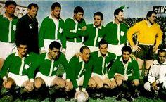 Image Foot, Club, Football Team, Soccer, 1950s, Messi, America, Retro, Vintage