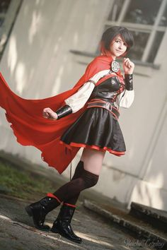 Cosplay Manga Costume Ruby Rose from RWBY cosplay by Keicho Cosplay photo by Focus Felis Rwby Cosplay, Top Cosplay, Cosplay Diy, Cute Cosplay, Cosplay Outfits, Best Cosplay, Cosplay Girls, Awesome Cosplay, Anime Cosplay