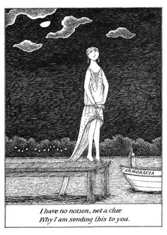 Once Upon A Time.......: Wicked and Whimsical: Edward Gorey's Vision