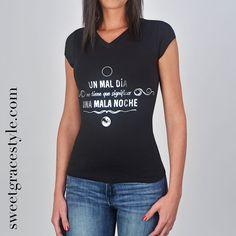 0d3fbecb8 23 imágenes estupendas de Camisetas con frases para mujer