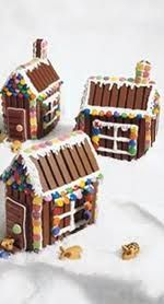 Kit Kat Gingerbread house! So cute
