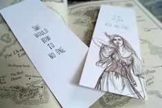 Heir of Fire by RemHeathillustration on Etsy