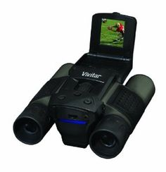 Vivitar Viv-cv-1225v Digicam Binoculars - Black by Vivitar. $47.99. From the Manufacturer                  Get close to the action with the Vivitar Digi-Cam Binoculars. This unique product is a cross between binoculars and a video camera and lets you not only see what is happening far away, but lets you also record what's going on. Zoom in up to 12x the power of the naked eye and make your video look like you had a front row seat. It's perfect for athletes looking to send tapes ...
