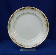 Signature Japan Queen Anne Pattern 113 White Dinner Plate #Signature