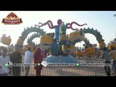 Rotating Octopus Rides - Family Amusement Park Rides For Sale   Contact Email: sherry@sinorides.com