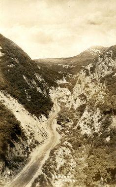 Road,Topanga Canyon,California.