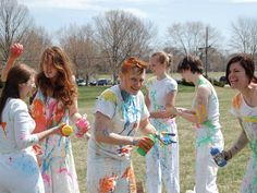Paint War! Something to do at my graduation party maybe? ;-)