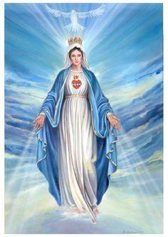 god on Pinterest | Sacred Heart, Blessed Virgin Mary and Virgin Mary