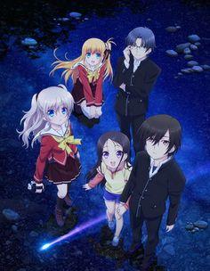 Charlotte. Anime plutôt bonne dans l'ensemble, malgré une histoire un peu lente, et des personnages qui manque de quelque chose. 14/20