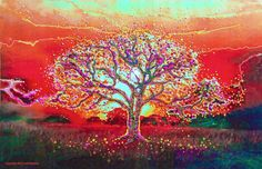 Healing from your deepest subconscious - and beyond. THE STORY In the words of the artist, Julia Watkins I created this painting by focusing on the...