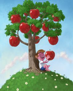 The Boy and the Apple Tree Story – Apple Tree Short Story for Kids Moral Stories For Kids, Short Stories For Kids, Apple Plant, Apple Tree, Castle Cartoon, Tree Story, Spring Girl, Cartoon Boy, Zombie Party