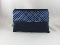 Taschenorganizer - kleines Täschchen aus Baumwolle und Kunstleder - ein…
