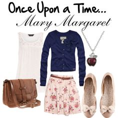 Mary Margaret Blanchard's style. (Once Upon a Time) I love the way she dresses very sweet and feminine