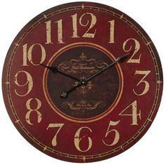 "Fleur De Lis Living Dashner 23.25"" Wall Clock"