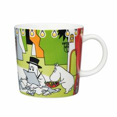Arabia - Mumin Becher - Summer Theater - Sommer-Theater - Sommer 2017 - Moomin P. Arabia – Mumin Becher – Summer Theater – Sommer-Theater – Sommer 2017 – Moomin Produkte z Moomin Shop, Moomin Mugs, Helsinki, Tove Jansson, Moomin Valley, Nordic Home, Floating House, Little My, Tsunami