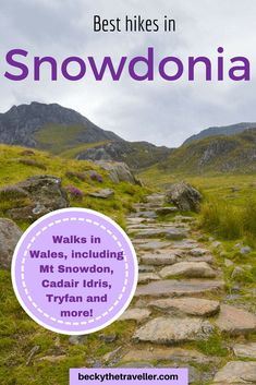 9 BEST Walks in Snowdonia (+ Options to Extend Hikes & Easy Walks Best walks in Snowdonia - Read here my top walks to do whilst visiting Snowdonia, from easy walks to challenging hikes, mountains and waterfalls in Wales. Things to do in Snowdonia, Wales Pembrokeshire Coast, Wales Snowdonia, Cool Places To Visit, Places To Travel, Sightseeing London, Snowdonia National Park, Visit Wales, Hiking Tips, Best Hikes