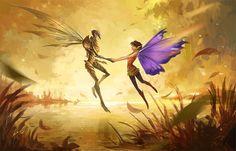 strange magic by sandara.deviantart.com on @DeviantArt