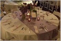 table runner, easy way to bring in colour