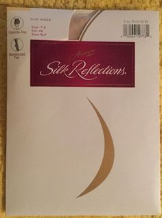 Hanes Silk Reflections Control Top Nylons Pantyhose NWT NEW Style 718  | eBay
