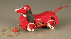 109.7826: Dachshund | pull toy | Baby and Toddler Toys | Toys | Online Collections | The Strong