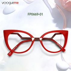 03da12774a Arda Red Cat Eye Glasses Our lovely red eyeglasses