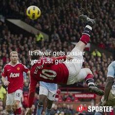 It never gets easier you just get better  #Football #bolakaki #sepakbola #indonesia #indonesian #motivasi #quote #quotes #quoteoftheday #quotedaily #quotegram  #quoteringsek #yangterdalam #motivasihidup #quotestoliveby #quotestags #quoted #quotesoftheday #quotesandsayings #quotesaboutlife  #quotesofinstagram #quotesforyou #quotesoflife #quoteofday  #quotefortheday #quoteoftheweek #quotegram #gosportee #gosporteeindonesia by @gosportee via http://ift.tt/1RAKbXL