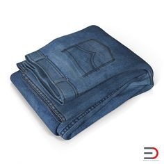 Jeans Folded