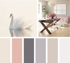 Una gama en tonos neutros siempre visten bien un espacio conservador y… Bedroom Colour Palette, Bedroom Colors, Bedroom Decor, My New Room, My Room, Colorful Decor, Colorful Interiors, Design Apartment, Small Room Bedroom