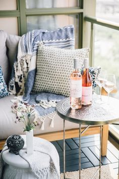 Our Tiny Outdoor Oasis | lark & linen