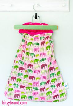 Bitsy Brand, The Bitsy Bag: Cozy, Wearable Blanket for Baby, Makes a Perfect Baby Gift!