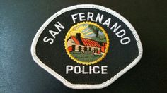 San Fernando Police Patch, Los Angeles County, California (Vintage 1986 Issue)