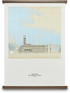ARTIST Arne Jacobsen & Erik Møller   POSTER DESIGN SIZE 50×70 cm   ABOUT THE ARTWORK Created for the 75 year anniversary of Aarhus City Hall. The City Hall of Aarhus, Denmark's second largest city, was drawn by Arne Jacobsen & Erik Møller and is widely considered one of the most important architectural tresures of …