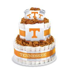 Tennessee Vols Baby Shower Cake