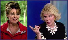 bRisTOL pALIN teevee: Joan Rivers Controversial Sarah Palin Comments