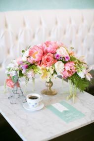 French Brunch Inspired Bridal Shower - Style Me Pretty