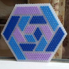 Coaster hama beads by gr1malkin