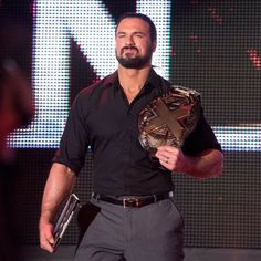 """WWE NXT photos for Nov. featuring action-packed images of Andrade """"Cien"""" Almas' attack on NXT Champion Drew McIntyre, NXT Tag Team Champions SAnitY vs. 2017 Photos, Wwe Photos, Drew Galloway, Drew Mcintyre, Wwe Champions, Aj Styles, Professional Wrestling, Wwe Superstars, Favorite Tv Shows"""