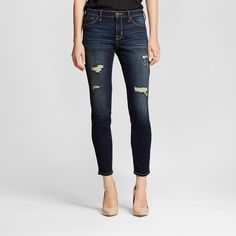 Women's Mid-rise Jegging Dark Wash