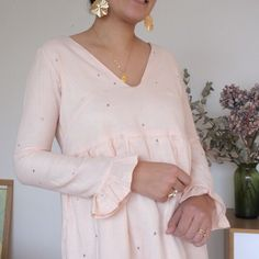 Tunic Blouse, Tunic Tops, Long Sleeve Tunic, Style, Decoration, Business, Fashion, Debutante, Vestidos