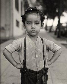 Ida Wyman, Girl with Curlers, Los Angeles, 1949